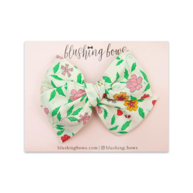 Vintage Floral $5 | Multiple Styles (Headband or Clip)