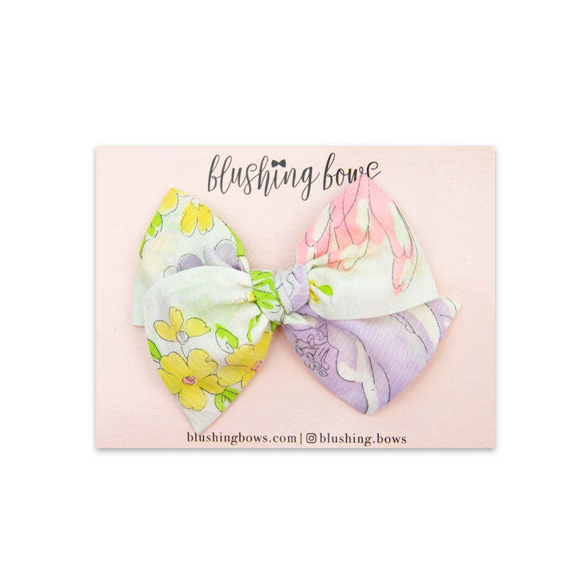 Large Floral Vintage | Multiple Styles (Headband or Clip)