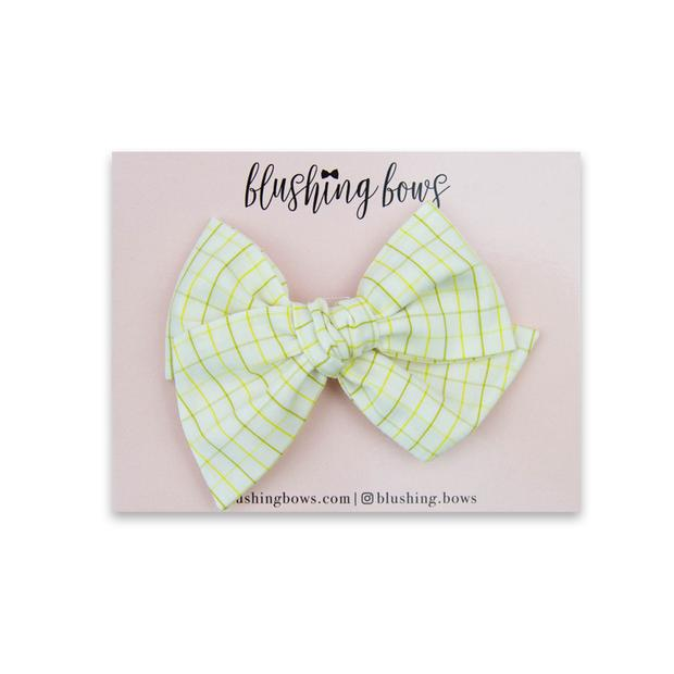 Wasabi Grid $5 | Multiple Styles (Headband or Clip)