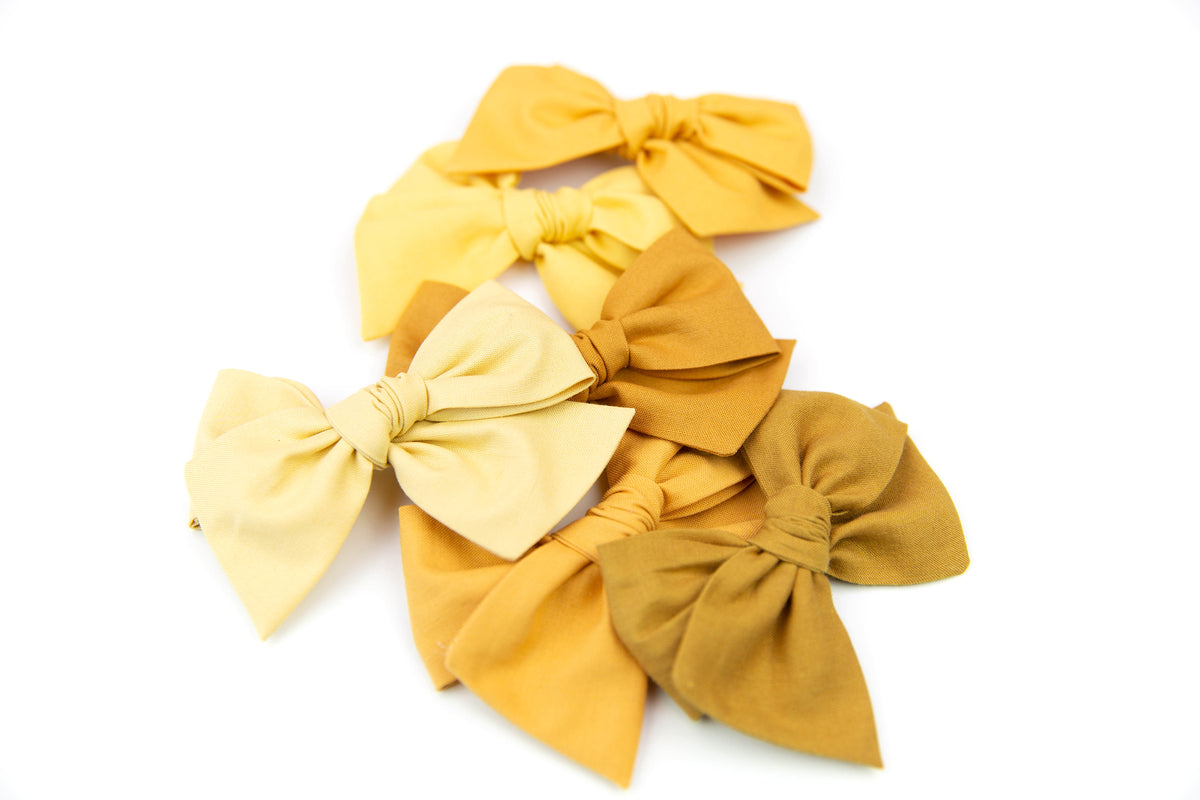 Mustard | Multiple Styles (Headband or Clip)