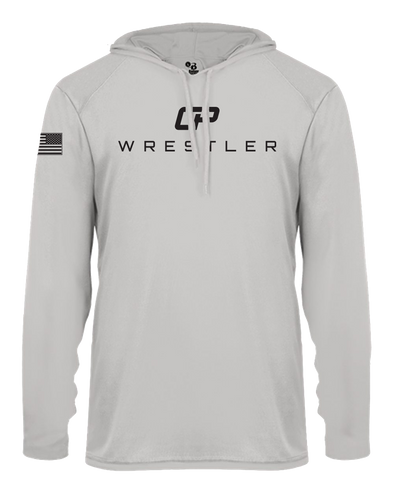 Long Sleeve Hooded Warm Up T-Shirt - CP Wrestler