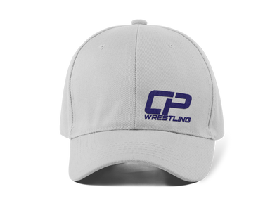 Grey and Navy CP Hat