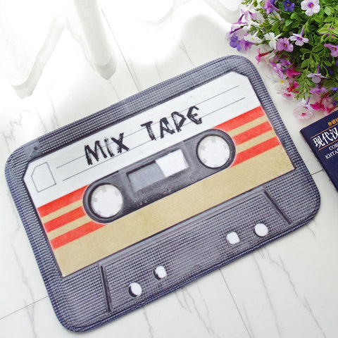 Tapis K7 audio Mix Tape