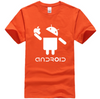 T-Shirt Android mange l'Apple