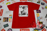 Supreme Vampirella Card Tee SS17 Red