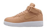 Nikelab Air Force 1 Mid Vachetta Tan
