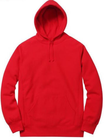 Supreme Pure Fear Hooded Sweatshirt SS16 Red