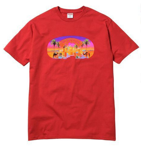 Supreme Mirage Tee SS17 Red