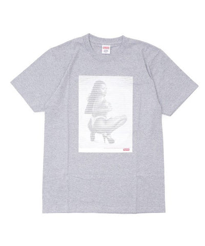 Supreme Digi Tee SS17 Heather grey