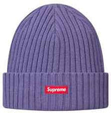 Supreme Overdyed Beanie SS16 Dusty Purple
