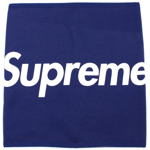Supreme Fleece Neck Gaitor FW15 Navy