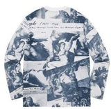 Supreme Michelangelo L/S Top FW17 Navy