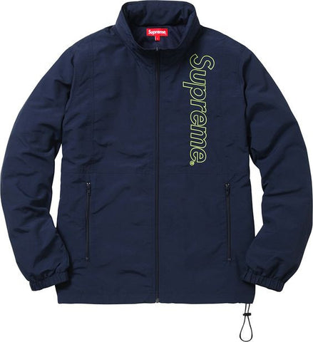 Supreme Nylon Windbreaker Jacket SS16 Navy