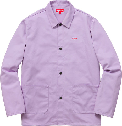 Supreme Shop Jacket SS16 Pale Purple