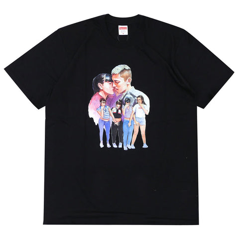 Supreme Kiss Tee FW17 Black