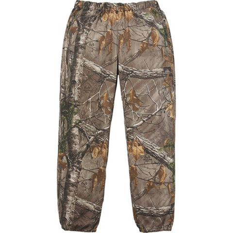 Supreme Realtree Camo Flannel Pants FW17 Woodbine