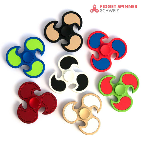 Fidget Spinner - Flame Clean