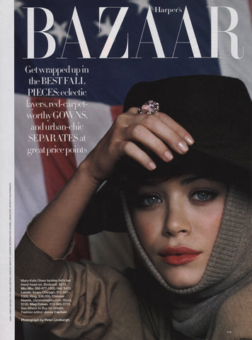 Harper's Bazaar September 2007 - Mary Kate Olsen