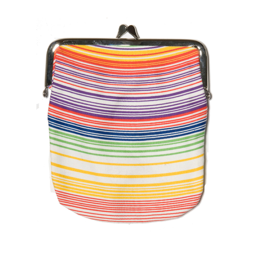 Multicolored Cotton Purse