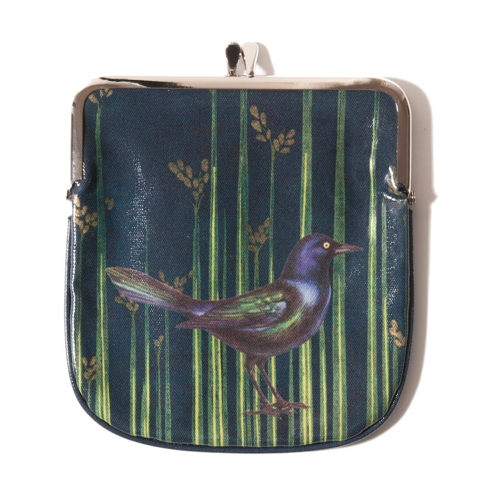 Rice Reeds Japanese Purse