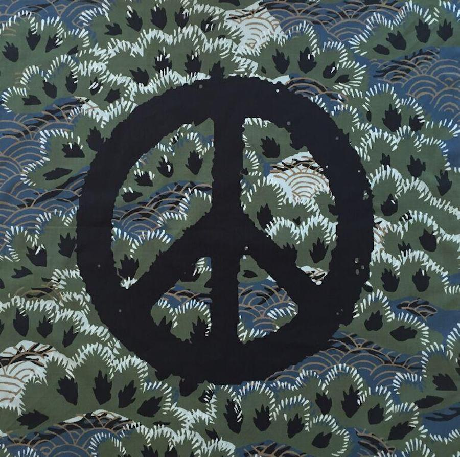 Peace Sign Neckerchief