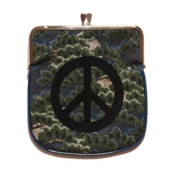 Peace Sign Japanese Purse