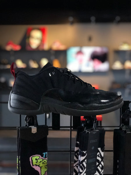 Jordan Retro 12 low Black Patent