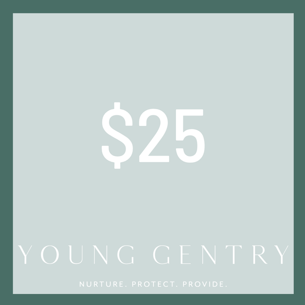Young Gentry Gift Card