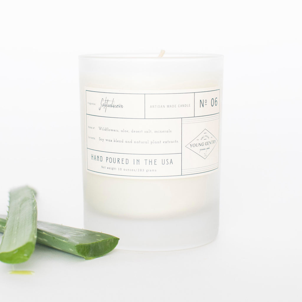 No 06 | Wildflowers, Aloe, Desert Salt, Minerals