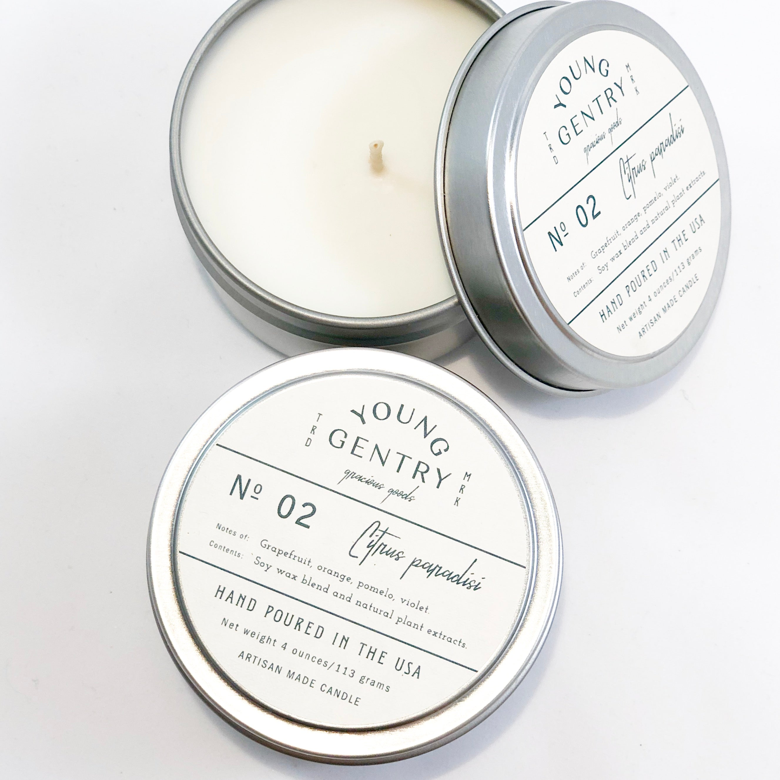 Apothecary Collection | No 02 | grapefruit, orange, pomelo & violet