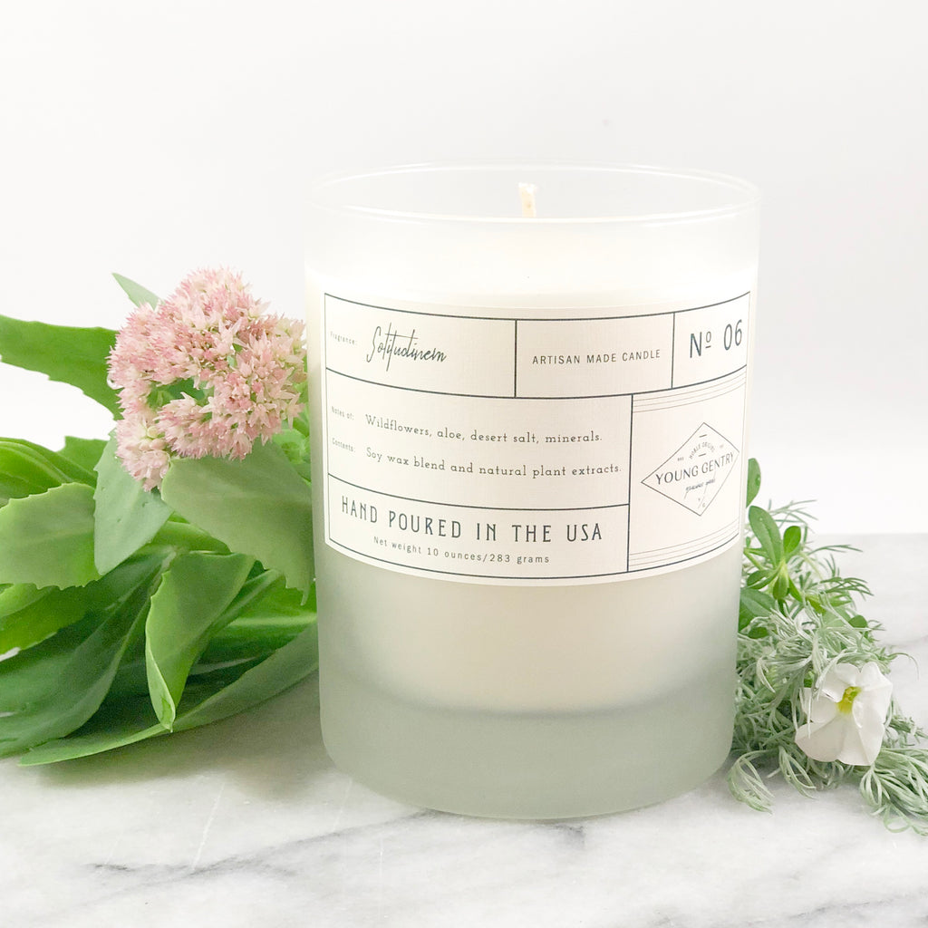 Apothecary Collection | No 06 | wildflowers, aloe, desert salt, minerals