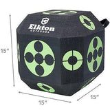 archery cube with dimension lines