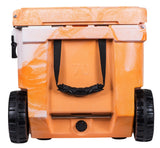 Elkton 70 Quart Ice Chest Orange with drain plug
