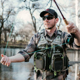 Fly Fishing Vest With Mesh Multi-Pocket Storage