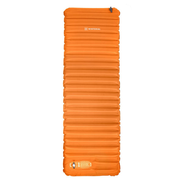 Winterial Sleeping Pad with Foot Pump Orange
