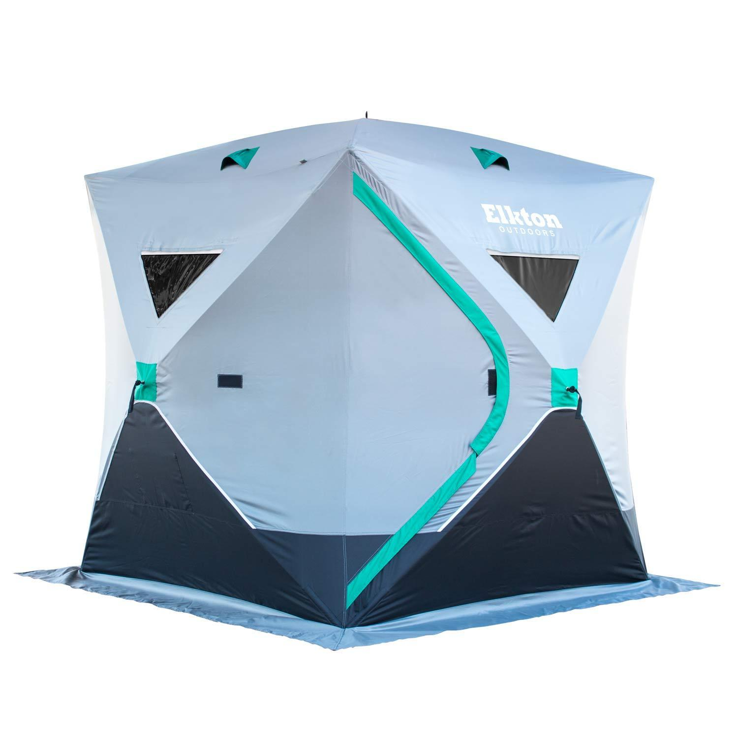 half off 33e22 c64ea Portable 3-Person Ice Fishing Tent Shelter With Ventilation ...