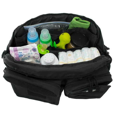 Daddy Diaper Bag With 11 Pockets & Compartments & Shoulder Strap