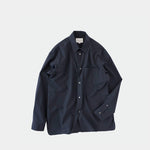 Regular Collar Shirt (Navy)
