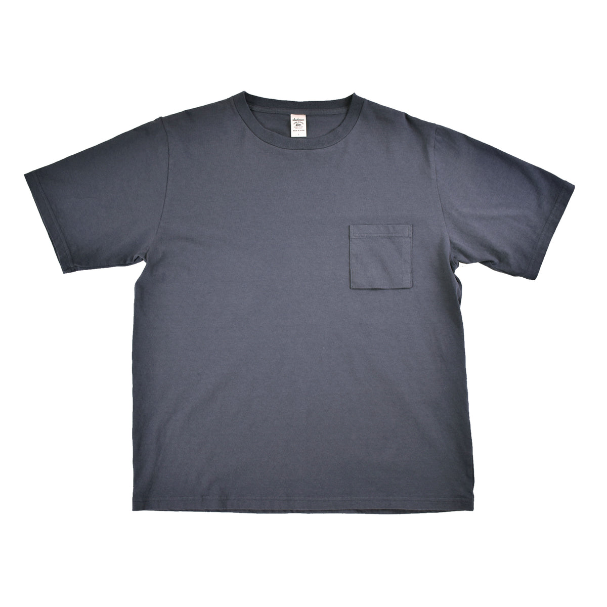 JACKMAN Pocket T Shirt Dark Grey