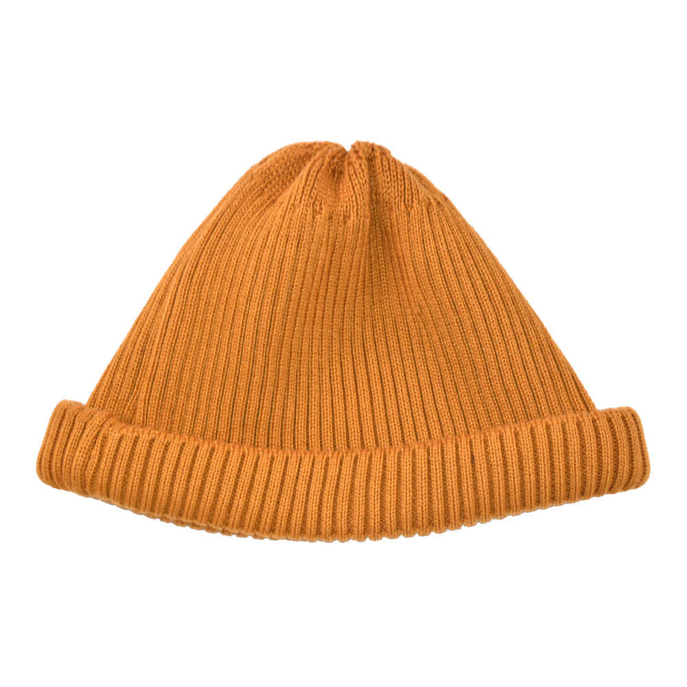 R5021 ROTOTO Cotton Roll Up Beanie (Yellow)