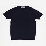 Knit T-Shirt (Navy)