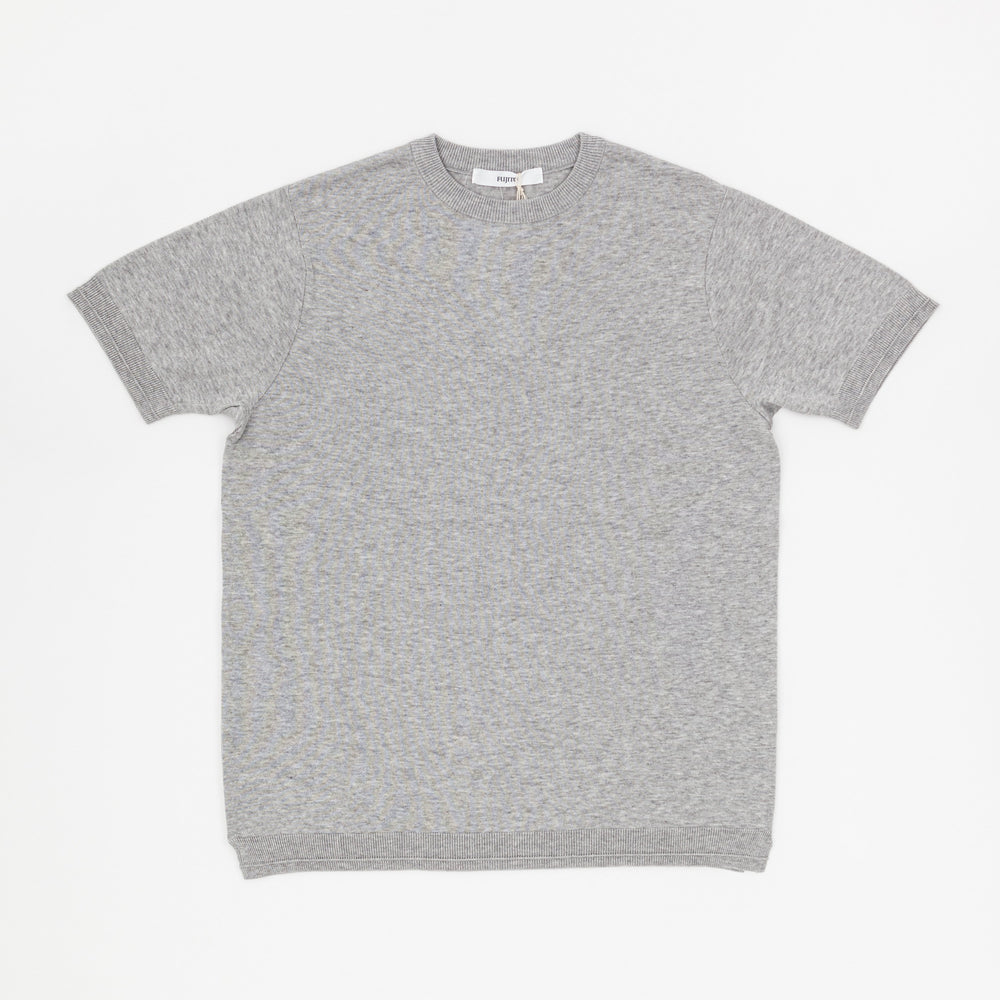 Knit T-Shirt (Top Grey)