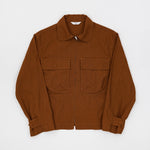 Military Blouson (Nut Brown)