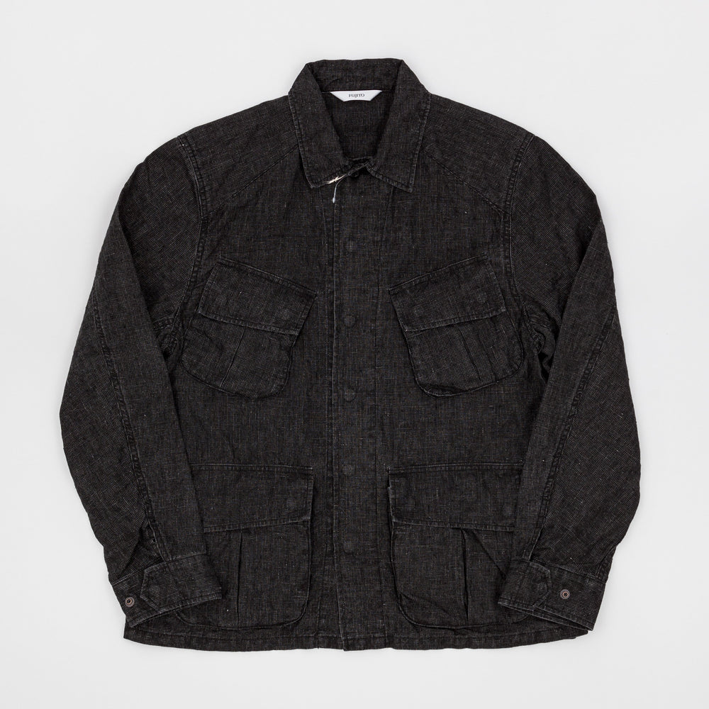 Jungle Fatigue Jacket (Black Mix)