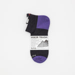 Hiker Trash - Hike & Run (Charcoal/Purple)