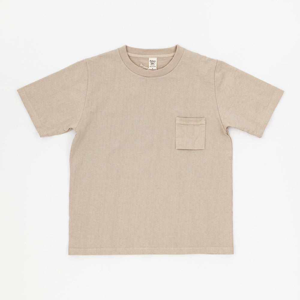 Dotsume Pocket T-Shirt (Dirty Base)