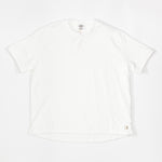 Short Pile T-Shirt (White)