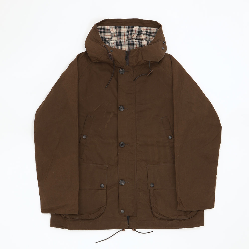 British Field Hooded Jacket (Brown)