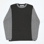 L/S Knit T-Shirt (Contrast Grey)