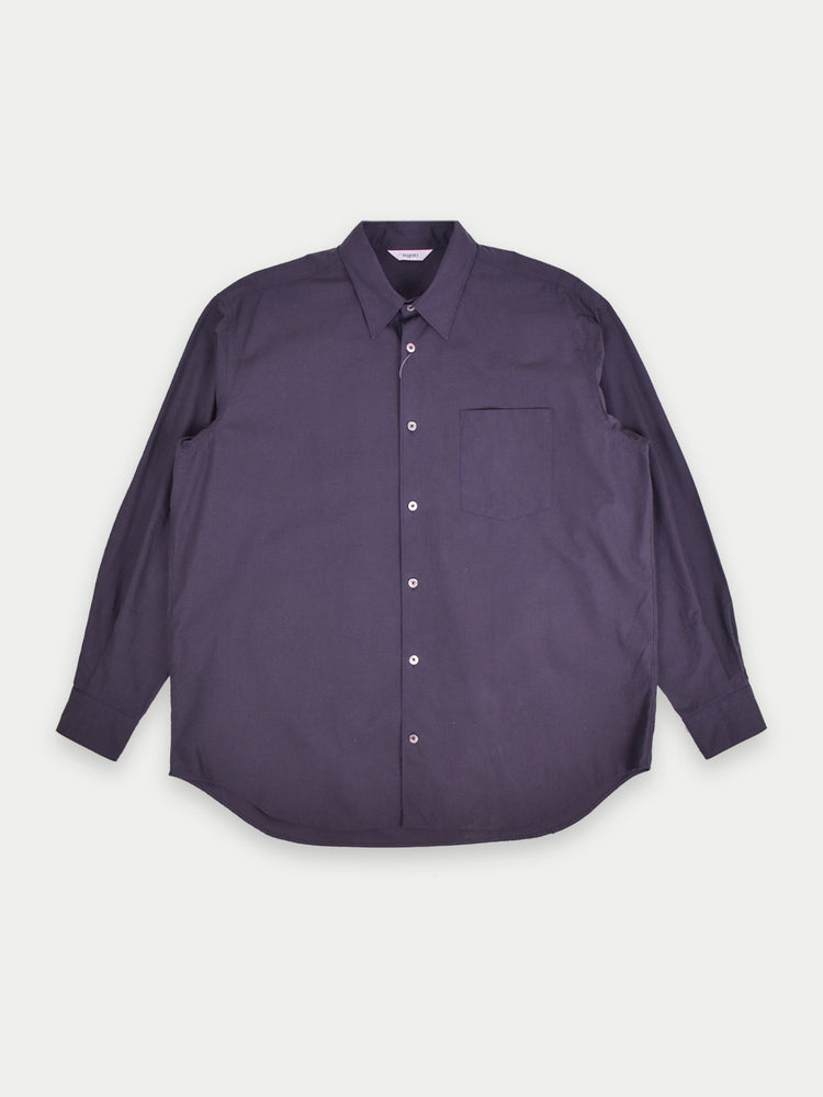 Relaxed B/D Shirt (Navy)